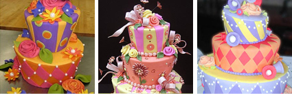 Whimsy Cakes from Portland Oregon