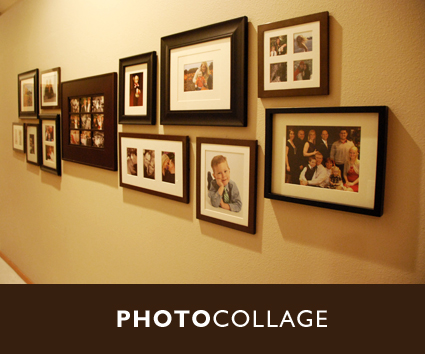 Hanging Collage Frames