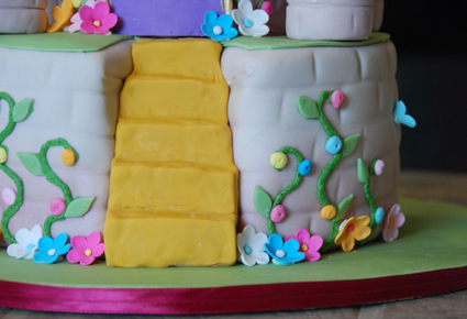 Castle Cake Decoration Details
