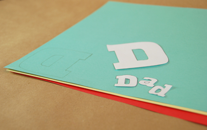 How to make a father's day gift at home
