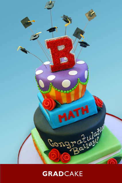 mad hatter graduation cake