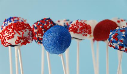 July cake pops
