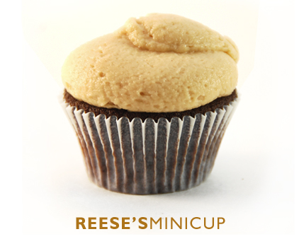 Reese's peanut butter cupcake