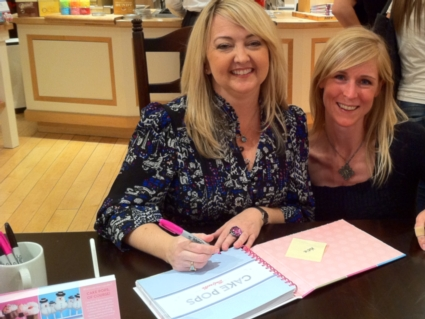 Signing of my Cake Pop book