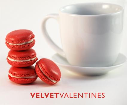 Valentines macaroons