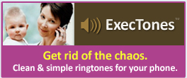 Professional ringtones for your cell phone.