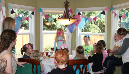 Home birthday party ideas for toddlers